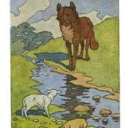 Раскраска волк на псарне - скачать бесплатно