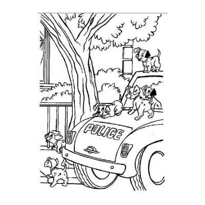 """Раскраски """"101 далматинец"""" - распечатать, скачать бесплатно"""