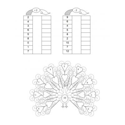 Пример на состав числа от 1 до 10