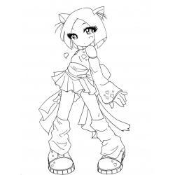 Котики - девочки аниме