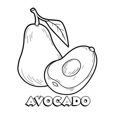 няшное авокадо