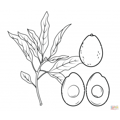 кавайный авокадо