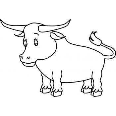 Как раскрасить быка