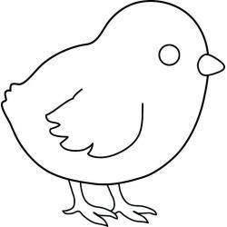 Цыпленок и курочка