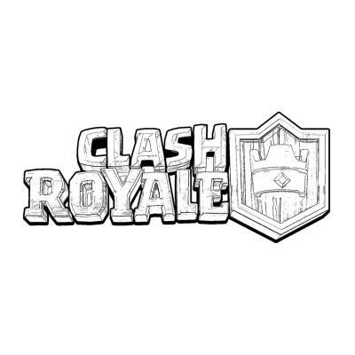 Раскраска Clash Royale