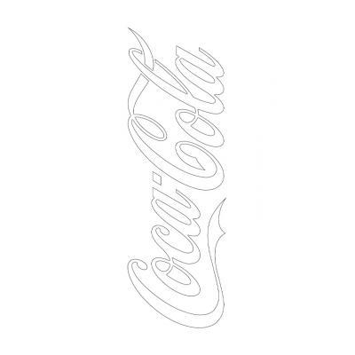Раскраска Кока Кола - распечатать, скачать бесплатно