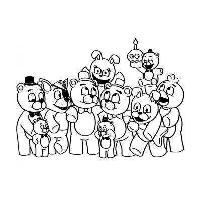 милые аниматроники