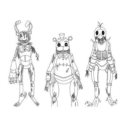 кошмарные и страшные аниматроники