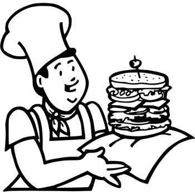 Раскраска Профессия повар