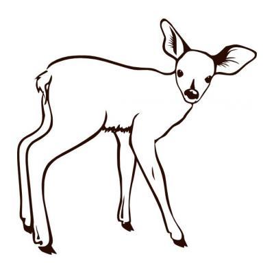Хорошенький олень