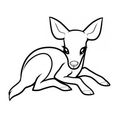 Милый олень
