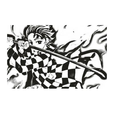 Раскраска Demon Slayer