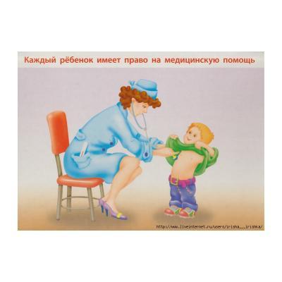 Рисунок Права ребенка для 1 класса школы
