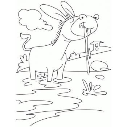 Хорошенький ослик