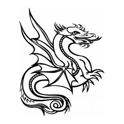 Смешной дракончик