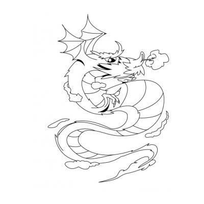 Сильный дракон