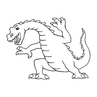 Раскрасить дракона