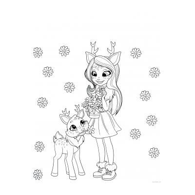 Девочка и питомец