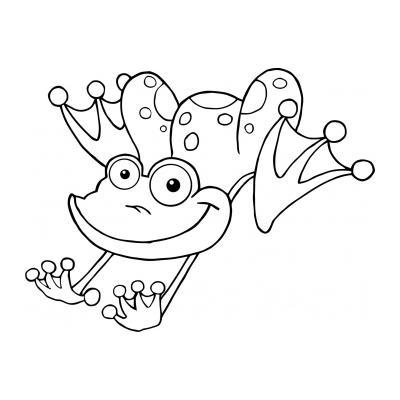 Красивая лягушка