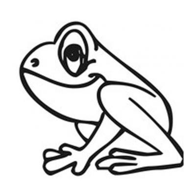 Раскрасить лягушку