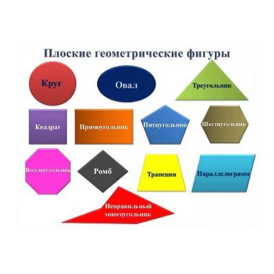 Задания для школьников на тему геометрические фигуры