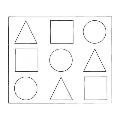 Геометрические фигуры для детей 3 - 4 лет