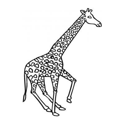 Милый жирафик