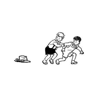 """Раскраска """"Живая шляпа"""" (по рассказу Носова) - распечатать, скачать бесплатно"""