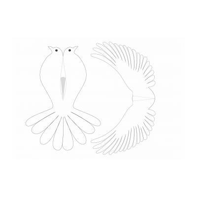 ажурный голубь
