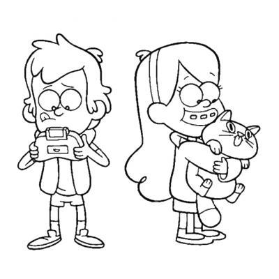 Стэн и Диппер