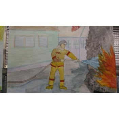 детский рисунок