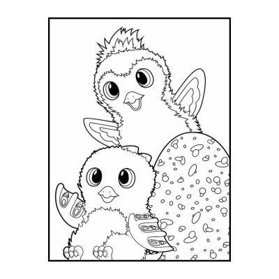 Раскраска Hatchimals
