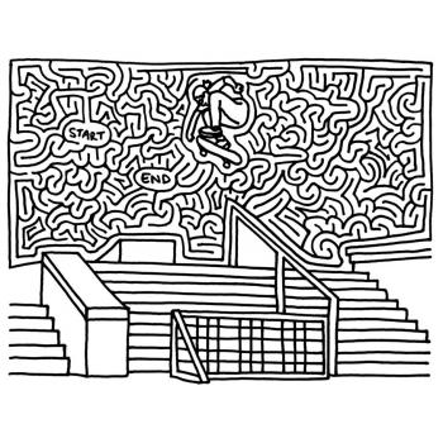 Лабиринты для детей разного уровня сложности