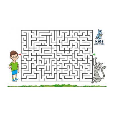 Детский лабиринт