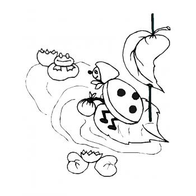 Раскраска Божья коровка - распечатать, скачать бесплатно
