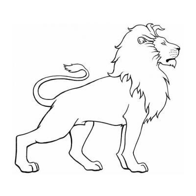 Царственный лев