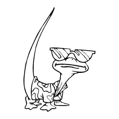 Животное ящерица