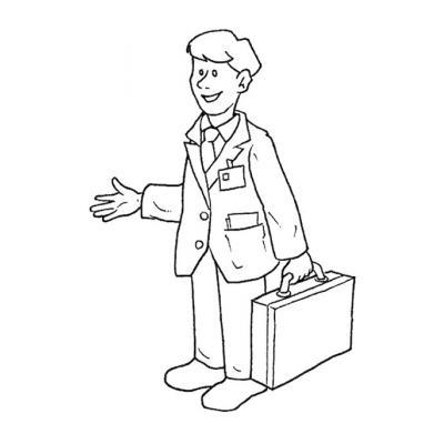 Мужские профессии - распечатать, скачать бесплатно
