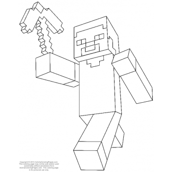 Стив Minecraft