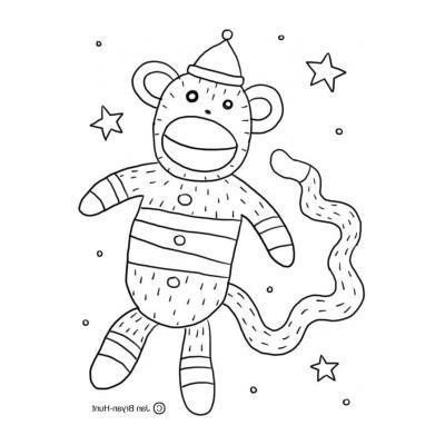 Картинка с обезьяной