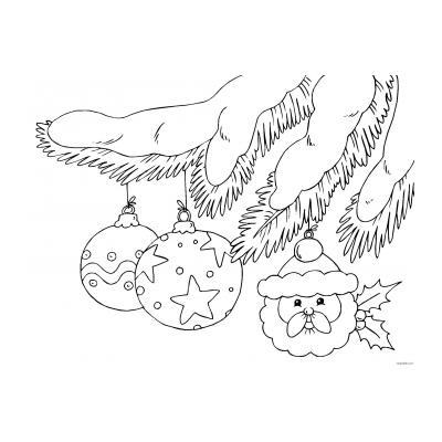 Раскраска Рождество Христово для детей