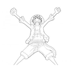 Раскраска One Piece