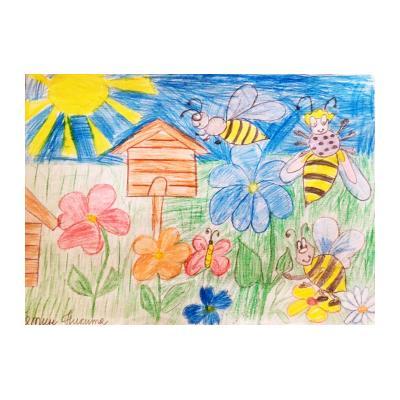 Иллюстрация к сказке о животных придуманных детьми