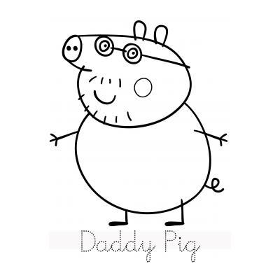 Свинка Пеппа и ее семья празднует Новый Год
