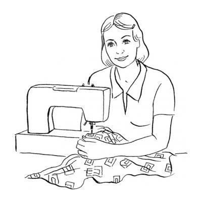 Раскраски Профессии наших мам - распечатать, скачать бесплатно