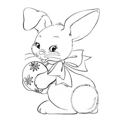 как раскрасить кролика