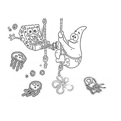 Раскраска Губка Боб - распечатать, скачать бесплатно