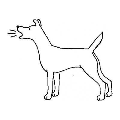 Раскраска волк на псарне - распечатать, скачать бесплатно