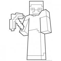 Раскраска Minecraft