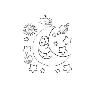 звезды и луна